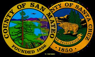 San Mateo and Santa Cruz Counties Evacuation Map